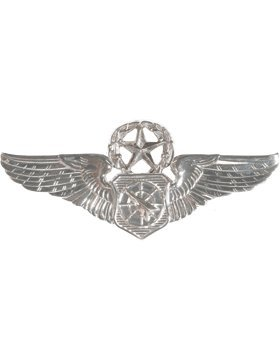 (Air Force Air Battle Manager No Shine Full Size Badge (Master))