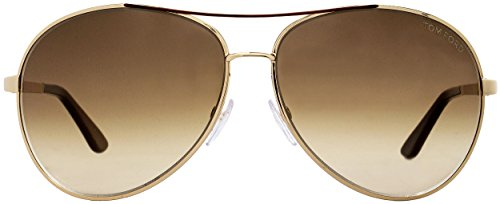 TOM FORD SUNGLASSES FT0035 CHARLES GOLD TF35 772 by Tom Ford (Image #1)