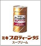 パウダー状の分離大豆たんぱく ミキプロティーン95 スープリーム 425g
