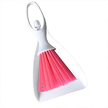 Panihari Branded Car Dashboard Vent Cleaner Broom Dustpan Window Keyboard Cleaning Brush Tool Set (Color May Very)