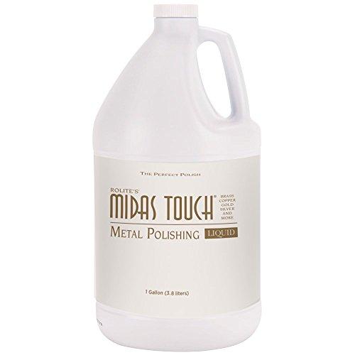 Rolite's Midas Touch Metal Polishing Liquid (1gallon) wit...
