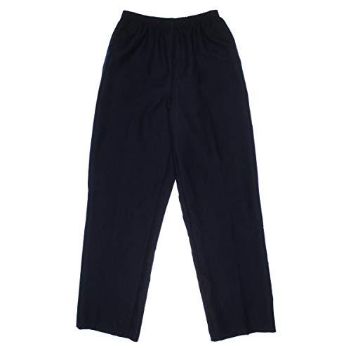 Alfred Dunner Elastic Waist Jeans - Alfred Dunner Women's Medium Pant,Navy,14