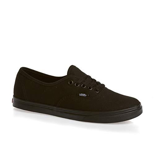 Vans Adult Authentic Lo Pro Sneakers - black monochrome, men