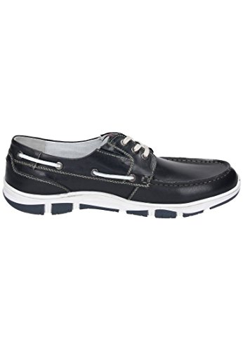 Manitu 641033 men shoes with drawstrings Blue best store to get sale online free shipping 2014 low price fee shipping for sale r2MgKEzofr