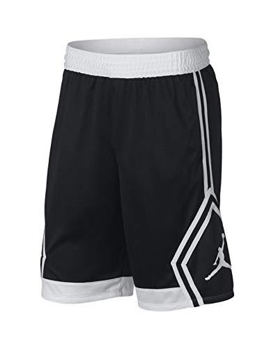 Nike Mens Rise Diamond Short 887438-013_M - Black/White/Black/White ()