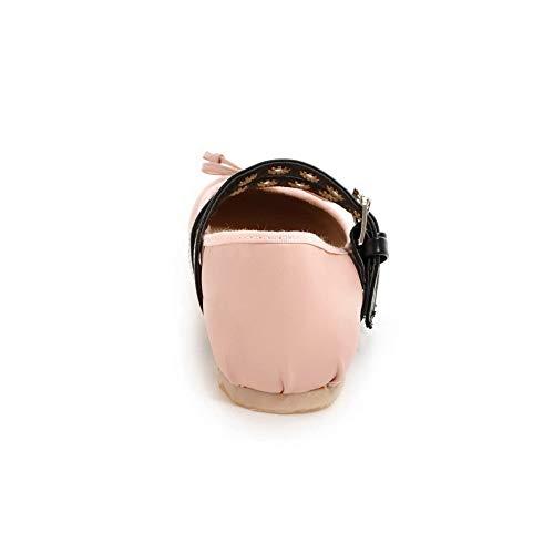 Rose AN Femme DGU00600 Compensées Sandales 36 5 Rose XpZqXx