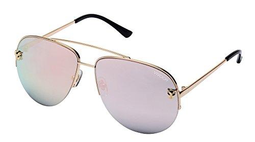 VIVOCH, Aviator Sunglasses Military Style Polarized UV400 for Men and Women, MW03, - Military Style Sunglasses
