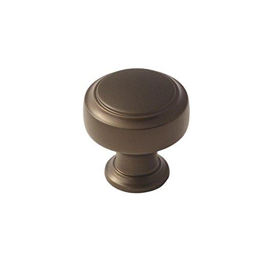 Amerock 1853556 Highland Ridge 1-3/16 in (30 mm) Diameter Caramel Bronze Cabinet ()