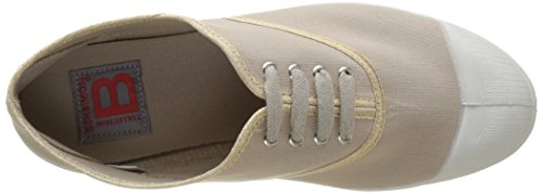 Shinypiping Beige Mujer Tennis Lacet Beige Botas Coquille Bensimon HERX6w