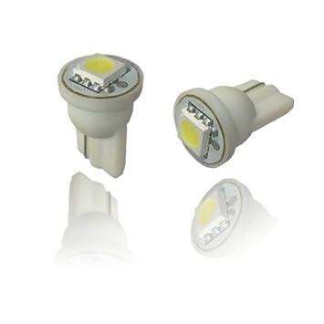 T10SW - Blanca SMD LED lámpara bombilla de repuesto luces de posición W5W T10 12V Numero