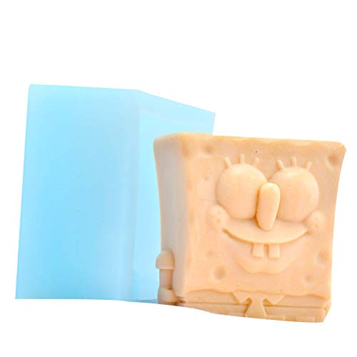 Soap Molds Spongebob Chocolate Candy Mold Handmade Pudding Jelly Making Tool -