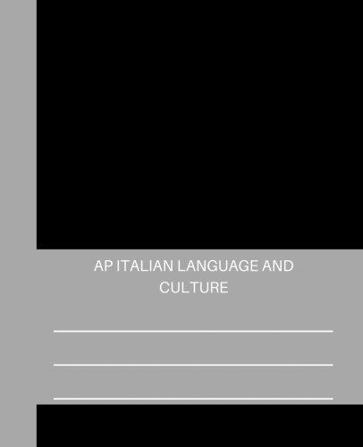 italian ap exam - 6