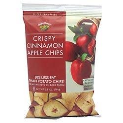 Good Health Apple Chips, Crispy Cinnamon 12- 2.5 oz (70g)