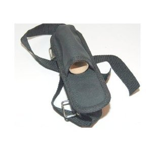 Black Nylon Strap On Multi Tool, Flashlight Leg / Arm Holster W/ 15