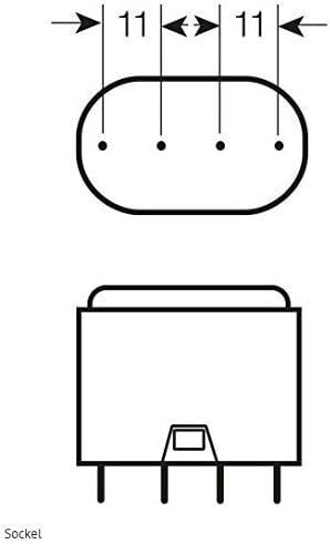 10x Osram DULUX L Kompaktleuchtstofflampe 2G11 - (L 55W/830-535mm - Warmton)