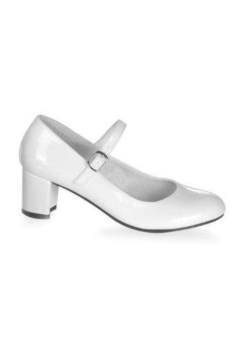 Funtasma by Pleaser Women's Schoolgirl-50 Mary Jane,White Patent,8 M US for $<!--$34.56-->