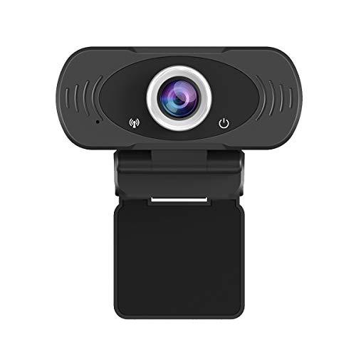 🥇 JideTech PC Webcam 1080P with Mic
