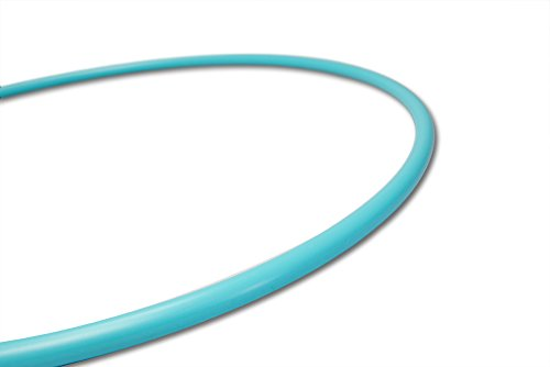 The Spinsterz Cloudless Sky Polypro Hula Hoop, Great Hoop for Adults, Beginners and Professionals (36″ (Beginner)) Review
