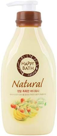 Happy Bath Natural Real Moisture Body Wash 900ml