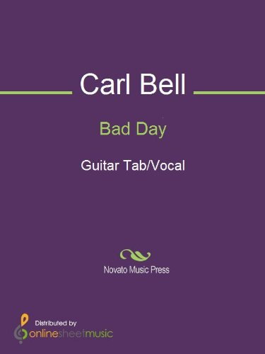 Bad Day Sheet Music (Bad Day)