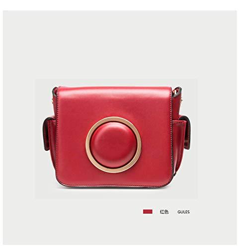 rossa per a Borsa tracolla donna tracolla borsa a con qxw8AwUR
