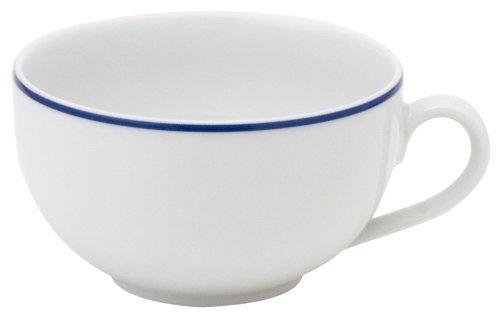 (KAHLA Aronda Tea Cup 7 oz, Blue Line Color, 1 Piece)