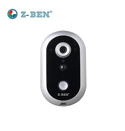 Z-BEN-DB2016 Wi-Fi Remote Video Camera Door Phone Rainproof Intercom Doorbell IR Night Vision Home Improvement Visual Door Ring Silver color -  Shenzhen zhongben security Electronic Co.Ltd, ZB-DB2016