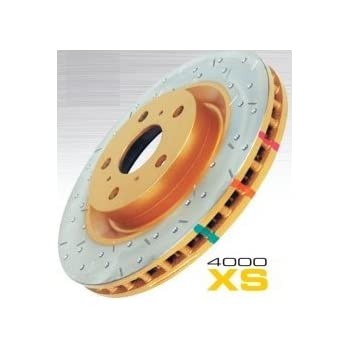 DBA DBA4069XS 4000 Series XS Premium Cross-Drilled and Slotted Front Vented Disc Brake Rotor
