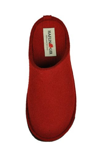 Flair Rouge Mixte Haflinger Mules Chaussons Soft Adulte dn8ZqHYZ