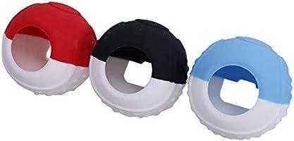 CHIN FAI Estuche Controlador Poké Ball Plus, empuñadura de Silicona Antideslizante para Pokemon Lets Go Juego de Pikachu/Eevee para Nintendo Switch con Palillos para Pulgares: Amazon.es: Electrónica