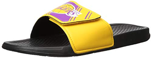 Flip Flops Team (Los Angeles Lakers NBA Mens Legacy Sport Slide - XL)