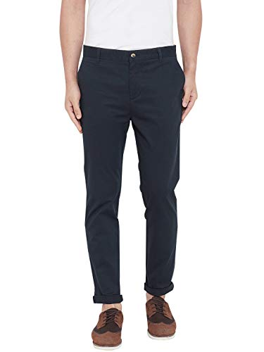 Jump USA Men Grey Casual Slim Fit Trousers