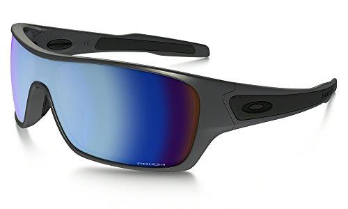 Oakley Turbine Rotor Sunglasses Steel / Prizm Deep Water Pol. & Care Kit - Rotor Turbine