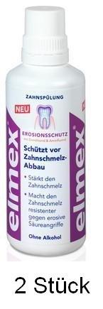2 elmex EROSIONSSCHUTZ Zahnspülung, je 400 ml