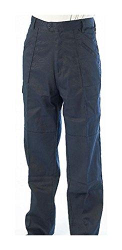 De Pantalon 40 Style Haut En 106 Xl Polycoton Taille nbsp;cm Marine Travail 7 Combat Bleu FIaqn