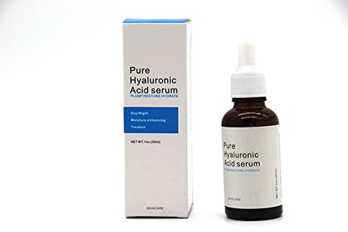 MZH 100% Pure Natural Moisturizer to Hydrate Skin Hyaluronic Acid Serum Facial Anti Wrinkle Serum Hyaluronic Intense Moisture