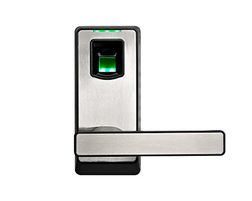zkteco pl10b bluetooth fingerprint biometric smart door lock keyless home entry with your smartphone