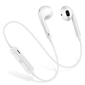Wireless Earbuds Wireless Bluetooth Headphones, 4.1 Waterproof Sports Earphones, Noise Cancelling Earbuds with Stereo & Anti-Interference