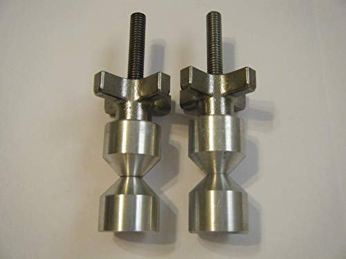 1 1/4'' Aluminum Two Hole Pins with Quick Knobs by Davis
