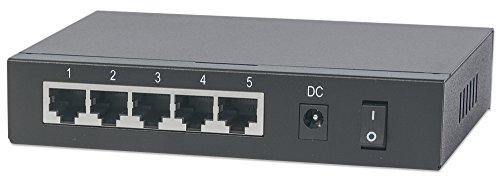 Intellinet 561082 5 Port Gigabit PoE Switch by Intellinet (Image #1)
