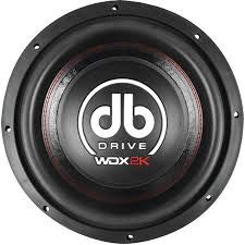 DB Drive WDX12 2K Wdx Series Competition Subwoofer (12