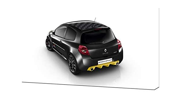 Lienzo Impreso en Lienzo para Pared, diseño de Renault-Clio-RS-Red ...