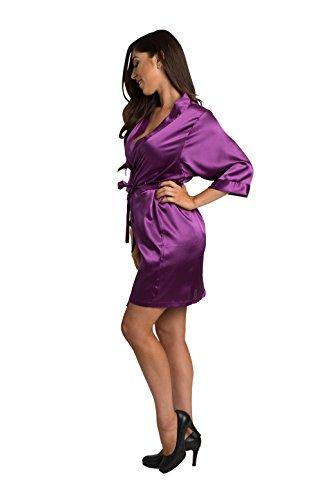 Eggplant Donna Zynotti Bridesmaid Vestaglia Donna Zynotti Vestaglia Eggplant Bridesmaid Donna Bridesmaid Zynotti Vestaglia q7Cdq