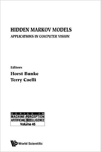 Hidden Markov Models: Applications In Computer Vision: Horst