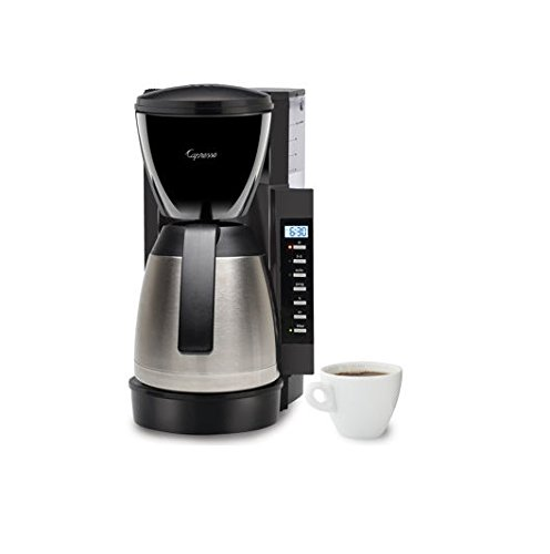 Capresso CM 300 Stainless Steel Thermal Coffeemaker 475 05
