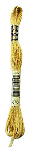 Dmc Gold Floss - 7