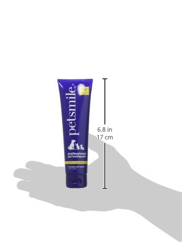 Petsmile Professional Dog Toothpaste - 4.5oz - 2 Pack, Two Bottles of 4.5oz Included