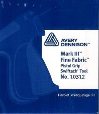 Mark III Fine Fabric Pistol Grip Swiftach Tool