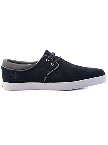 Zapatillas de skate para hombre escenario de Dover Skate Shoes negro Black Suede Talla:11.0 negro - Black Suede