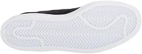 adidas Originals Women's Superstar Slipon W Sneaker Running Shoe, core Black/White, 6.5 M US